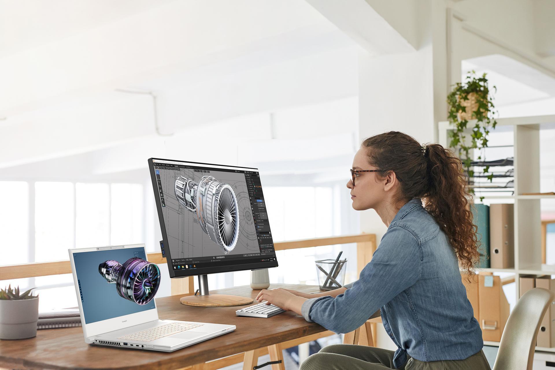 Acer giới thiệu máy tính xách tay ConceptD 7 phiên bản SpatialLabs dành cho người sáng tạo đồ họa 3D